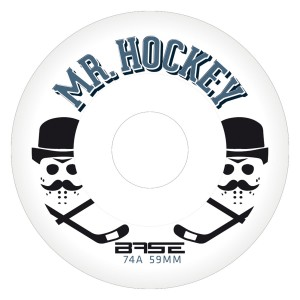 "Kółeczka BASE Indoor Wheel Pro ""Mr. Hockey"" - 74A - 4szt."