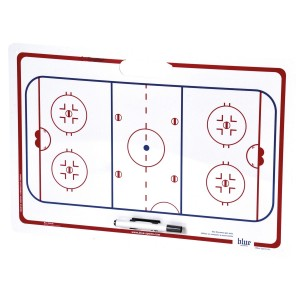 Tablica trenerska BLUE SPORTS Board with suction cups 40 x 60 cm