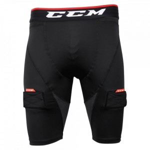 Spodenki CCM Compression ze suspensorem Senior