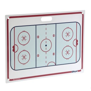 Tablica trenerska BERIO Rigid-Tacticboard with handle 71x51 cm
